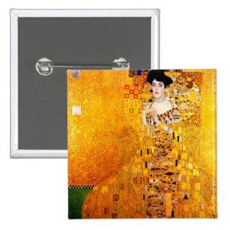 Art déco del retrato de Gustavo Klimt Adela Bloch- Pin
