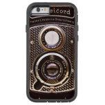 Art déco del rolleicord de la cámara del vintage funda de iPhone 6 tough xtreme