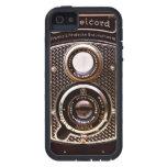 Art déco del rolleicord de la cámara del vintage iPhone 5 Case-Mate funda