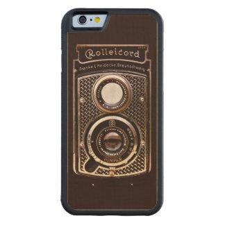 Art déco del rolleicord de la cámara del vintage funda de iPhone 6 bumper arce