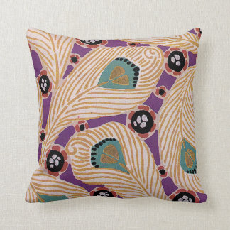 Art Deco Design #1 at Sunshinedazzle Throw Pillow