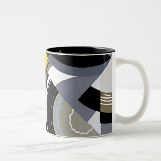 Art Deco Design #2 at Emporio Moffa Two-Tone Coffee Mug