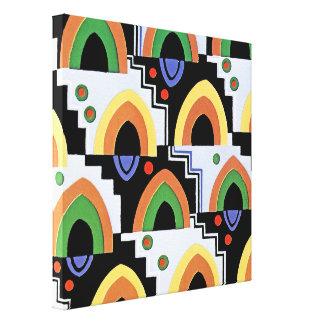 Art Deco Design #4 @ Emporio Moffa Stretched Canvas Prints