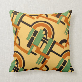 Art Deco Design #7 @ Emporio Moffa Throw Pillow