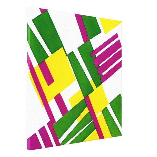 Art Deco Design #8 @ Emporio Moffa Canvas Print
