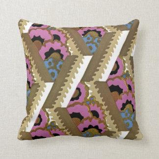 Art Deco Design #9 at Sunshinedazzle Throw Pillow