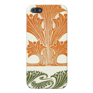 Art Deco Design Abstract Floral iPhone SE/5/5s Case