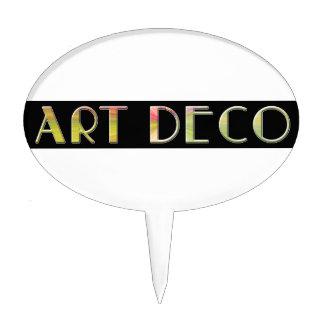 art deco design by shawn tomlinson cake picks