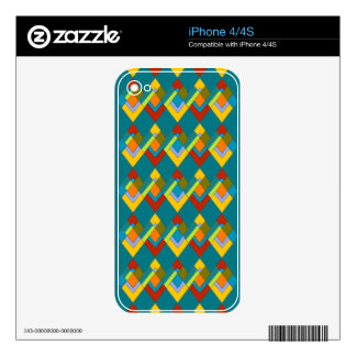Art Deco Design on iPhone 4/4S Skin