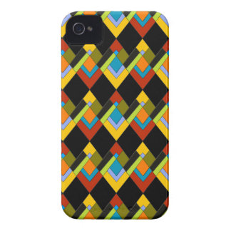 Art Deco Design on iPhone 4 Barely There Case