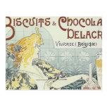 Art Deco Design Postcard