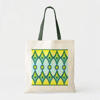 Art Deco Diamond Shape Tote Bag
