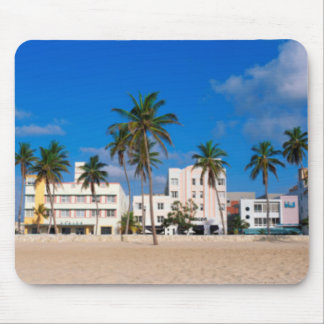 Art Deco District Of South Beach Miami Mouse Pad
