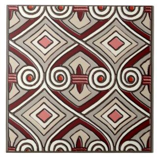 Art Deco Does Persia Ceramic Tile