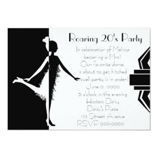 Art  Deco Doll Personalized Invites