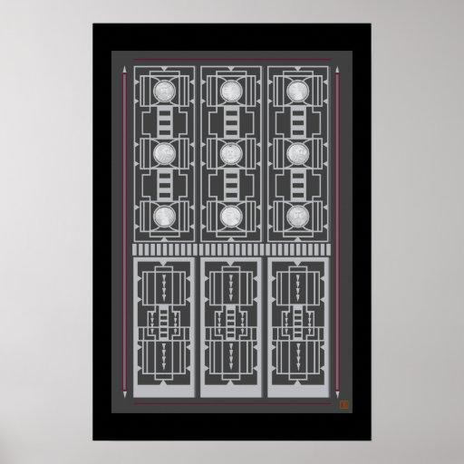 Art Deco Doorway-Print