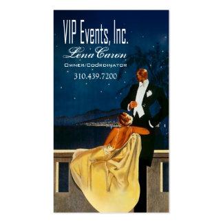 """Art Deco"" - Event Planner, Coordinator Business Card"
