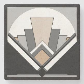 Art Deco Expression Stone Coaster