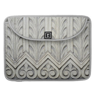 Art Deco Facade Detail MacBook Pro Sleeve