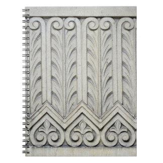 Art Deco Facade Detail Notebook