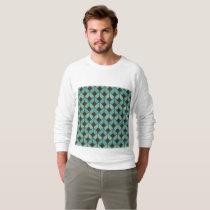 art deco, fan pattern, vintage,1920 era, elegant,c sweatshirt