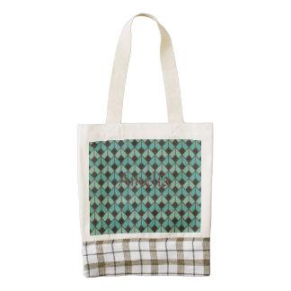art deco, fan pattern, vintage,1920 era, elegant,c zazzle HEART tote bag