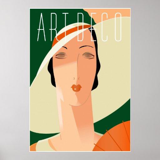 Art Deco Fashion 02 Poster