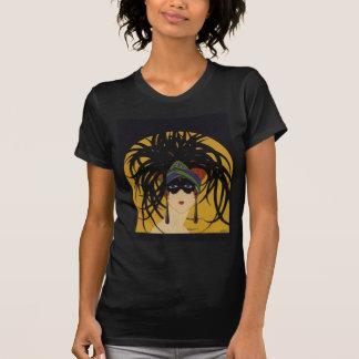 Art Deco Festive Lady T-Shirt