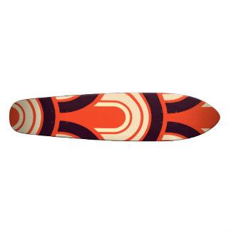 Art Deco Fifties Retro Abstract Art Skateboard Deck