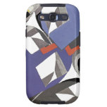 Art Deco Fine Art Bold Abstract Phone Cases Samsung Galaxy S3 Covers
