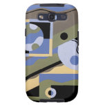 Art Deco Fine Art Phone Cases - Bold Abstracts Samsung Galaxy S3 Covers