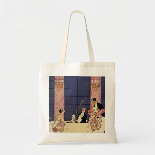 Art Deco Fine Dining Tote Bag