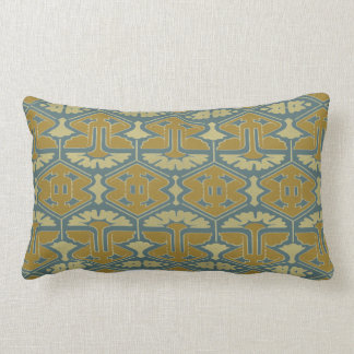 Art Deco Flair - First Variation Lumbar Pillow