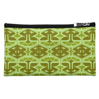 Art Deco Flair - In Green Makeup Bag