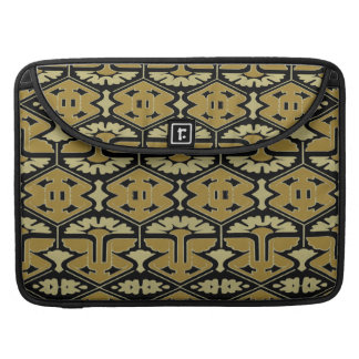 Art Deco Flair - Variation on Black Sleeve For MacBook Pro