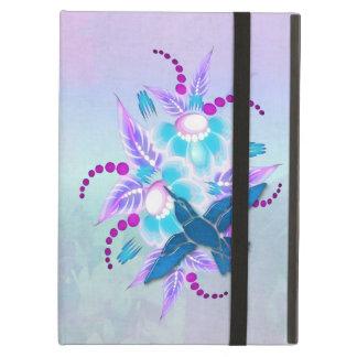 Art déco floral del colibrí