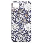 Art Deco floral fabric iphone 5 cases