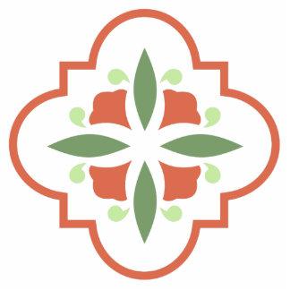 Art Deco Flower Cutout