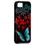 Art Deco Flowers and Butterfly iPhone 5 Covers