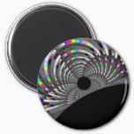 Art Deco Fractal Magnet