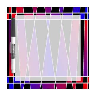 Art Deco 'Fractured' by Kenneth Yoncich Dry-Erase Board