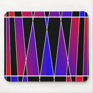 Art Deco 'Fractured' by Kenneth Yoncich Mouse Pad