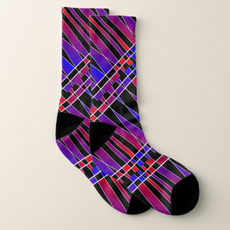 Art Deco 'Fractured' by Kenneth Yoncich Socks