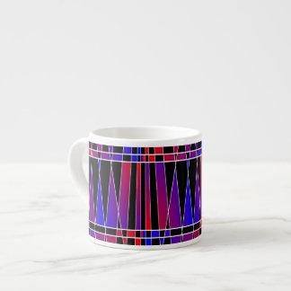 Art Deco 'Fractured' Espresso Cup