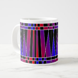 Art Deco 'Fractured' Jumbo Mugs