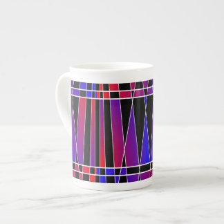 Art Deco 'Fractured' Porcelain Mug