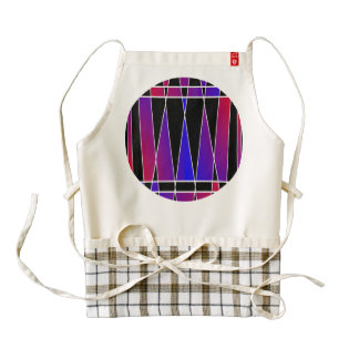 Art Deco 'Fractured' Zazzle HEART Apron
