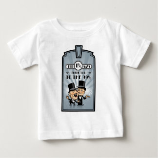 Art-Deco-Frame-And-Rays-3 Baby T-Shirt