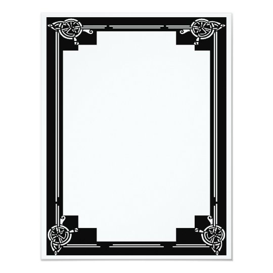 Art Deco Frame Card
