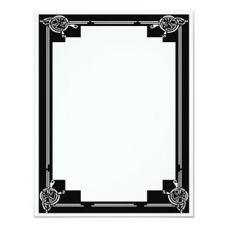 Art Deco Frame Card